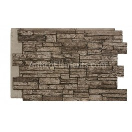"Laguna 24"" x 36"" Faux Stacked Stone - Camel - Front"