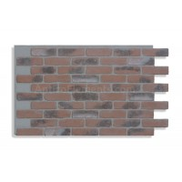 "Faux Reclaimed Brick 28"" - Chicago Red - READ NOTES BELOW"
