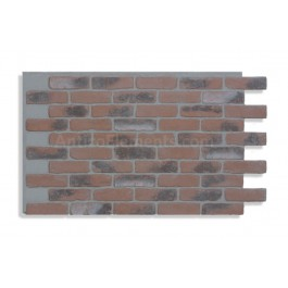 "Faux Reclaimed Brick 28"" - Chicago Red Front LG- READ NOTES BELOW"