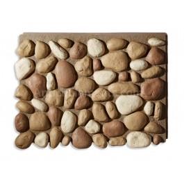 Brook River Rock - Stone Panels - Brown