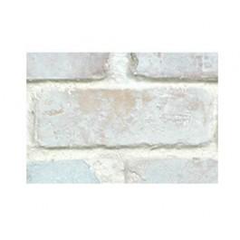 "Faux Chicago Brick 28"" Panel Sample - Cotton"