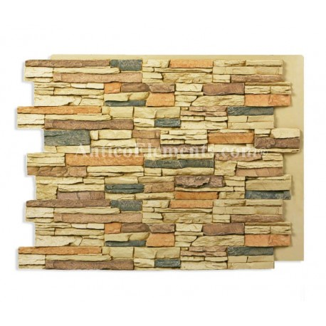 Alpi Panel - Faux Dry Stack - Sand - 36 x 48