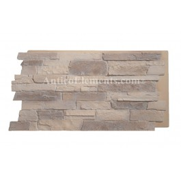 Comiso Panel - Stone Wall - Almond