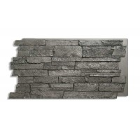 Comiso Panel Faux Culture Charcoal