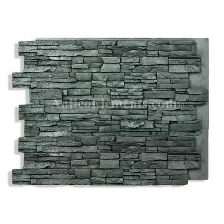Laguna 24 x 36 stacked stone charcoal