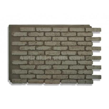 Panels of imitation brick