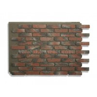 Antico Panel - Chicago Brick Red