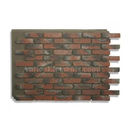Antico Panel - Chicago Brick Red - Front