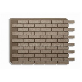 Villa Panel - Exterior Brick - Gray