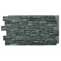 Alpi Dry Stack Panel Charcoal 24 x 48
