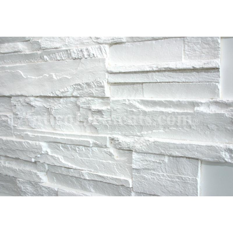 Faux Stone Panels Romana White