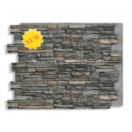 Alpi Panel Stone Wall Lava 36 x 48