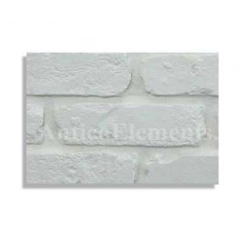 Antico Brick Sample - White