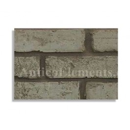 Antico Brick Sample - Gray