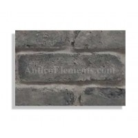 "Faux Reclaimed 28"" Panel Brick Sample - Charcoal - With Rebate - Free Standard Shipping"