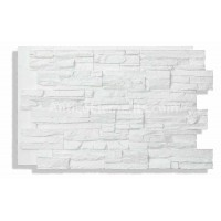 Laguna Faux Stacked Stone - White