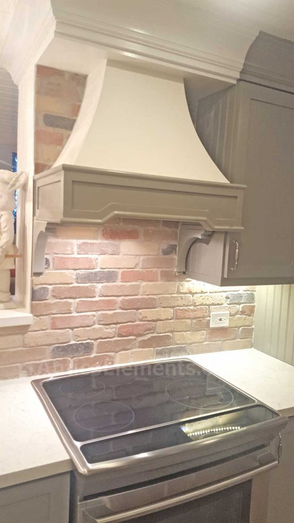 Another Kitchen Brick Backsplash