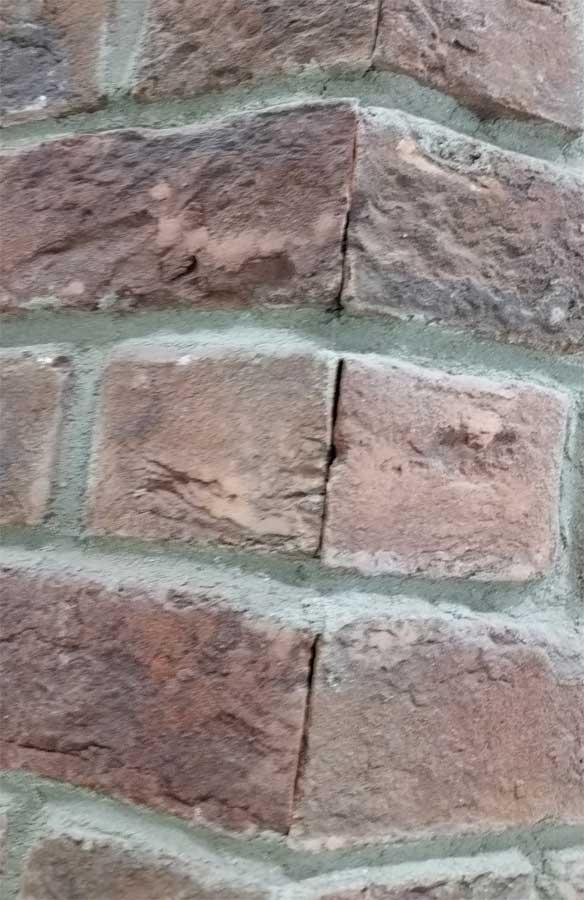 Mitered Brick Separated