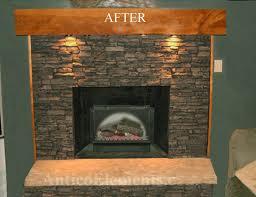 Antico fireplace