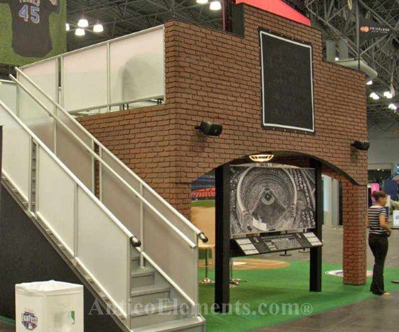 Stone Display Booth At Trade Shows