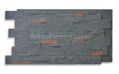 Faux Stacked Slate Panels