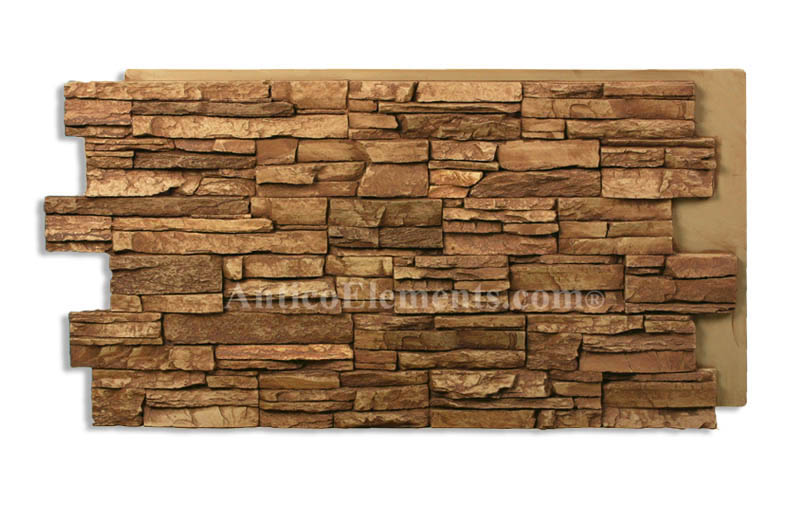 Alpi Faux Stacked Stone In Sienna Color