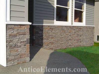 Stone Siding Example