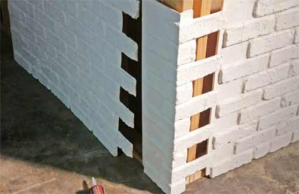 Easy Interlocking Brick Panels