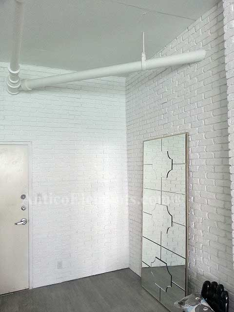 Antico Brick Panels White