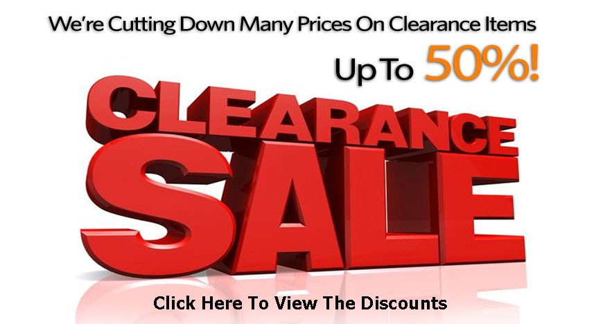 Clearance Discounts!